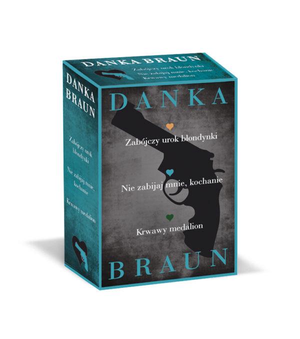 Danka Braun pakiet 3 książek