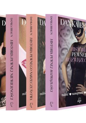 Pakiet czterech książek Danki Braun
