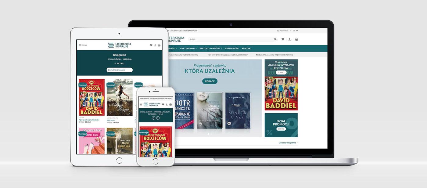 Sklep online Literatura Inspiruje