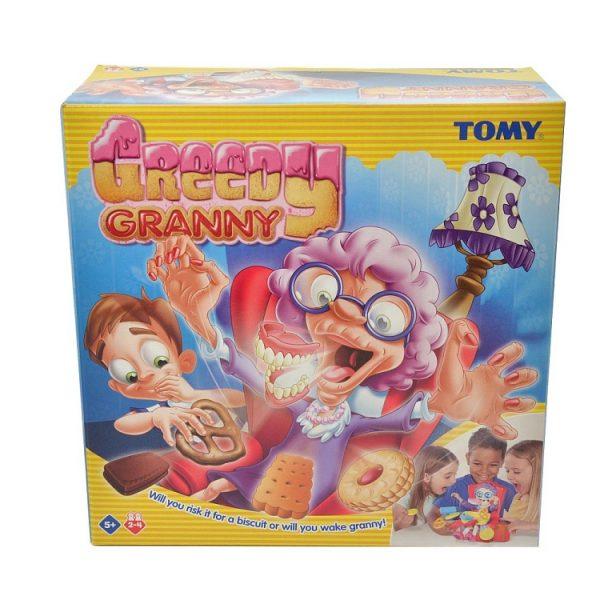 łakocie chciwej babci