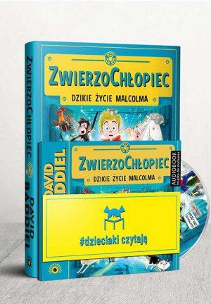 Pakiet Dzieciaki czytają: ZwierzoChłopiec + CD