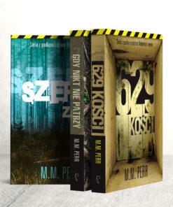 Seria z podkomisarzem Robertem Lwem - pakiet 3 książek